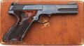 Handguns:Semiautomatic Pistol, Boxed Colt Woodsman Second Series Match Target Semi-AutomaticPistol....