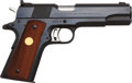 Handguns:Semiautomatic Pistol, Colt National Match 1911A1 Semi-Automatic Pistol....