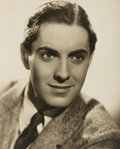 Autographs:Celebrities, American Actor Tyrone Power Inscribed Photograph Signed....