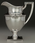 Silver Holloware, American:Pitchers, A GORHAM SILVER WATER PITCHER, Providence, Rhode Island, circa1940. Marks: (lion-anchor-G), STERLING, A10516, 3-1/2PINT...