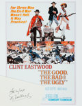 Autographs:Celebrities, [The Good, the Bad and the Ugly] Eli Wallach Autograph. ...