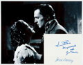 Autographs:Celebrities, [Dragonwyck] Gene Tierney and Vincent Price Autographs. ...
