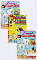 Bronze Age (1970-1979):Cartoon Character, Casper's Ghostland #82 and Richie Rich and Cadbury #2 Multiple FileCopies Long Box Group (Harvey, 1975-77) Condition: Average...