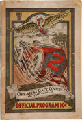 Miscellaneous Collectibles:General, 1910 Indianapolis Speedway Program....