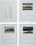 Miscellaneous Collectibles:General, 1994-99 Brickyard 400 Photograph and Stat Sheet Archive....