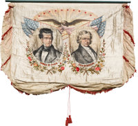 Polk & Dallas: Simply the Finest Political Campaign Banner in Collectors' Hands