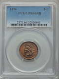 Proof Indian Cents, 1896 1C PR66 Red and Brown PCGS....
