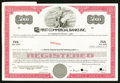 Miscellaneous:Other, First Commercial Banks Inc. Specimen $5000 Bond.. ...