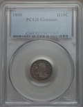 Early Half Dimes, 1800 H10C V-1, LM-1, R.3, PCGS Genuine....