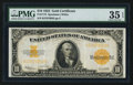 Large Size:Gold Certificates, Fr. 1173 $10 1922 Gold Certificate PMG Choice Very Fine 35 EPQ.. ...
