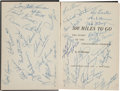 Miscellaneous Collectibles:General, 1961 500 Miles to Go Multi Signed Book. ...
