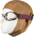 Miscellaneous Collectibles:General, 1930's Bill Cummings Race Worn Goggles. ...
