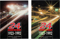 Miscellaneous Collectibles:General, 1992 24 Heures Du Mans Book Set of 2. ...