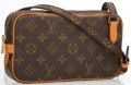 """Luxury Accessories:Bags, Louis Vuitton Classic Monogram Canvas Marly Bandouliere CrossbodyBag. Excellent Condition. 8.5"""" Width x 5"""" Height x2..."""