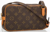 """Louis Vuitton Classic Monogram Canvas Marly Bandouliere Crossbody Bag Excellent Condition 8.5"""" Wi"""