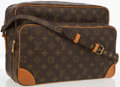 "Luxury Accessories:Bags, Louis Vuitton Classic Monogram Canvas Nil Crossbody Bag. Good toVery Good Condition. 14"" Width x 9.5"" Height x 6"" Dep..."