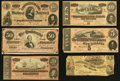 Confederate Notes:1862 Issues, 1862 and 1864 Notes.. ... (Total: 6 notes)