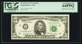 Error Notes:Mismatched Serial Numbers, Fr. 1975-L $5 1977A Federal Reserve Note. PCGS Very Choice New 64PPQ.. ...