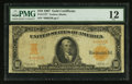 Large Size:Gold Certificates, Fr. 1172* $10 1907 Gold Certificate Star PMG Fine 12.. ...