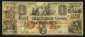 Obsoletes By State:Michigan, Mt. Clemens, MI- Bank of Macomb County $1 Apr. 1, 1858. ...