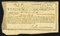 Colonial Notes:Connecticut, Connecticut Interest Certificate £10.1s.10d November 29, 1780Anderson CT-21 Fine.. ...