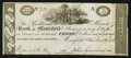 Obsoletes By State:Ohio, Mansfield, OH- The Richland & Huron Bank of Mansfield $3 Dec.19, 1816 . ...