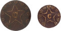 Militaria:Uniforms, Two Mississippi Confederate Cavalry Buttons.... (Total: 2 Items)