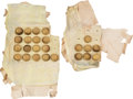 Arms Accessories:Tools, Two Cards of U.S. Eagle Staff Officer's Buttons.... (Total: 24 )