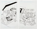 Original Comic Art:Covers, Stan Goldberg and Bob Smith Betty #165 and #168 CoverOriginal Art Group (Archie Comics, 2006-2007).... (Total: 2Original Art)