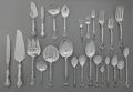 Silver Flatware, American:Gorham, A HUNDRED-AND-NINETEEN PIECE GORHAM KING EDWARD PATTERNSILVER FLATWARE SERVICE, Providence, Rhode Island, desig... (Total:119 Items)