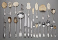Silver Flatware, Continental, A HUNDRED-AND-FORTY-FIVE PIECE CHRISTOFLE SILVER AND SILVER GILT FLATWARE SERVICE, Paris, France, circa 1875. Marks: (Minerv... (Total: 145 Items)
