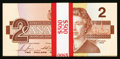 Canadian Currency: , BC-55c-i $2 1986 Thirty-one Consecutive Examples. ... (Total: 31 notes)