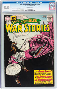 Star Spangled War Stories #100 (DC, 1962) CGC VF 8.0 Off-white pages