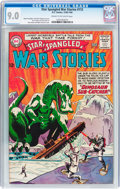 Silver Age (1956-1969):War, Star Spangled War Stories #112 (DC, 1964) CGC VF/NM 9.0 Cream to off-white pages....