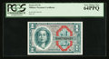 Military Payment Certificates:Series 611, Series 611 $1 PCGS Very Choice New 64PPQ.. ...
