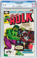 Modern Age (1980-Present):Superhero, The Incredible Hulk #271 (Marvel, 1982) CGC NM 9.4 Off-whitepages....