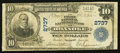 National Bank Notes:Virginia, Roanoke, VA - $10 1902 Plain Back Fr. 624 The First NationalExchange Bank Ch. # 2737. ...