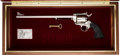 Handguns:Single Action Revolver, Cased Colt Buntline Single Action Revolver....