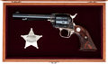 Handguns:Single Action Revolver, Cased Commemorative Colt Single Action Frontier Scout Revolver....