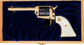 Handguns:Single Action Revolver, Cased Colt Commemorative Single Action Frontier Scout Revolver....