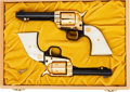 Handguns:Single Action Revolver, Consecutive Pair of Colt Commemorative Single Action Frontier ScoutRevolvers.... (Total: 2 Items)
