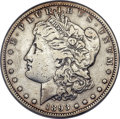 Morgan Dollars, 1893-S $1 -- Cleaned -- ANACS. XF Details, Net VF20....