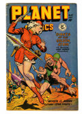 Golden Age (1938-1955):Science Fiction, Planet Comics #55 (Fiction House, 1948) Condition: VG+....