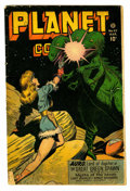 Golden Age (1938-1955):Science Fiction, Planet Comics #47 (Fiction House, 1947) Condition: GD....