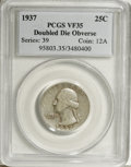 1937 25C Doubled Die Obverse VF35 PCGS....(PCGS# 95803)