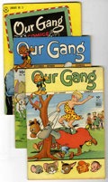 Golden Age (1938-1955):Humor, Our Gang Group (Dell, 1944-48) Condition: Average VG+.... (Total: 7 Comic Books)