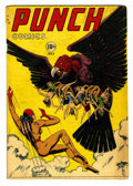 Golden Age (1938-1955):Superhero, Punch Comics #20 (Chesler, 1947) Condition: GD/VG....