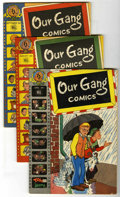 Golden Age (1938-1955):Humor, Our Gang Group (Dell, 1947-49) Condition: Average FN.... (Total: 6 Comic Books)