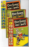 Golden Age (1938-1955):Humor, Our Gang File Copy Group (Dell, 1947-49) Condition: Average VF-....(Total: 4 Comic Books)