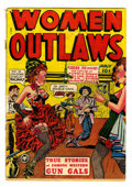 Golden Age (1938-1955):Western, Women Outlaws #1 (Fox Features Syndicate, 1948) Condition: GD....